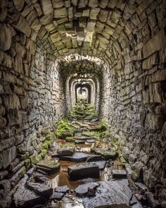 High on the moors to the north of Grassington in Yorkshire are an extensive area of ruins that once formed an important lead mining… Abandoned Buildings, Abandoned Mansions, Old Buildings, Abandoned Places, Abandoned Castles, Haunted Places, Beautiful Homes, Beautiful Places, House Beautiful