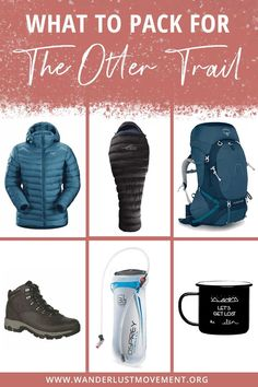 The Otter Trail is one of South Africa's top multi-day hikes. For five days, you'll trek past the Garden Route's rugged coastline, swim in waterfalls and if you're lucky, spot the rare Clawless Cape Otter! Here's a super detailed guide on what to pack for the Otter Trail to make sure you're prepared to survive in the wilderness! #ottertrail #packinglist #southafrica #gardenroute #hiking
