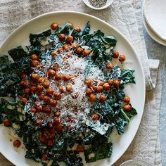 Hi Guys! I am reposting this recipe today because I have fallen in love again with this salad. The kale makes this salad perfect to bring to work because it's so hearty! I love to add chicken or tuna to this salad as well for easy added protein. :) ♥ Teri Its finally cooling down in LA! So today we have an in-between summer-fall salad; our Roasted Chickpea and Kale Salad with a Creamy Tahini...KEEP READING!