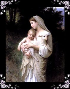 Mary and Baby Jesus by Bougereau