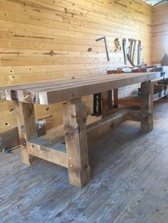 Large Dining Table by MasonFurniture on Etsy