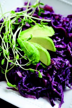 Get the Recipe for my Raw Purple Cabbage Slaw here: http://beautydetoxfoods.com/social-1/
