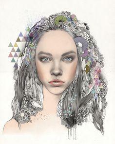 Untitled / Barbara Palvin by SoHyeon KIM, via Behance