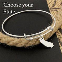 Choose your state bracelet