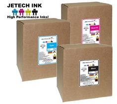 HP FB250 Compatible UV inks 3200ml Boxes - All (CH2xxA) #JeTechInk