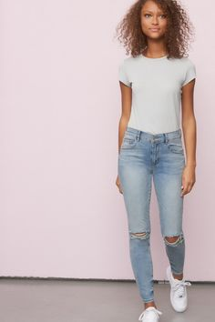 Women's Jeans & Jeggings Girlfriend Jeans, Mom Jeans, Skinny Jeans, Casual School Outfits, Cute Outfits, High Waist Jeggings, Perfect Jeans, Denim Shop, Passion For Fashion