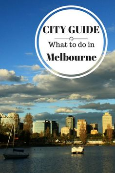 Cityguide what to do in Melbourne