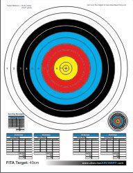 Enjoy the free printable targets below to help hone your archery skills. They also work great for other types of shooting including airguns (BB guns),airsoft guns,as well as rifles and pistols. Some of the printable targets are educational and show the vitals ofanimals like deer,