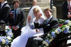 Hubertus von Sachsen-Coburg und Gotha mit Kelly Ronderstvedt
