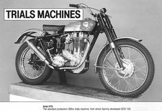 Old Bikes, Trials, Motorbikes, Retro, Classic, Motorcycles, Google Search, Vintage, Old Motorcycles