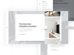 Modern Furniture by Krzysztof Krupa #Design Popular #Dribbble #shots
