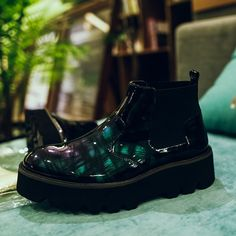Give your trainers a day off Elasticated inserts Round toe Chunky sole Pull tab Mens Shoes Boots, Leather Shoes, Men's Shoes, Shoe Boots, Black Leather, Chiara Ferragni Shoes, Topman Fashion, Top Shoes For Men, Thom Browne