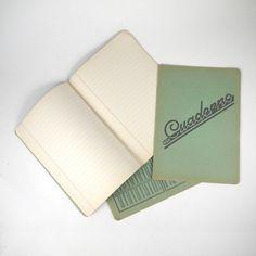 Vintage Spanish 40s School Unused Notebooks