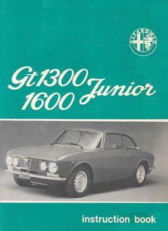 Instruction book Alfa Romeo Giulia GT 1300/1600 Junior