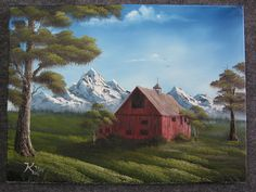 """Old Red Barn"" by Kevin Hill"