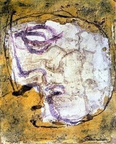 JEAN FAUTRIER http://www.widewalls.ch/artist/jean-fautrier/ #tachisme