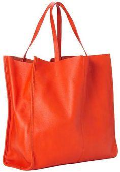 Beautiful orange tote
