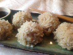 Pearl Balls: #Pork Siomai Dumplings in Sticky Rice for #Chinese New Year on http://asianinamericamag.com