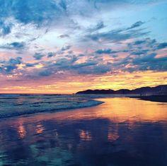 Espectacular atardecer de Acapulco
