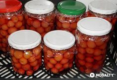 Legegyszerűbb cseresznyebefőtt eltevése   NOSALTY Chana Masala, Food Storage, Empanadas, Preserves, Squash, Curry, Paleo, Spices, Beans