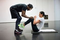 """To help runway models squeeze into sample sizes for Fashion Week, the former boxer Michael Olajide Jr. has been training them to """"sleekify"""" at his West Village gym. Lingerie Shoot, Lingerie Models, Sexy Lingerie, Victorias Secret Models, Victoria Secret, Squats And Lunges, Interesting Reads, Thinspiration, Runway Models"""