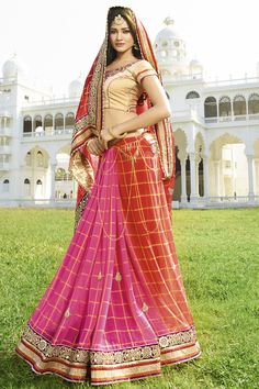 RED-PINK BANARSI DORI PRINT FANCY DESIGNER WEDDING SAREE at Lalgulal.com. To Order :-http://goo.gl/KPJp3r To Order you Call or Whatsapp us on +91-95121-50402. COD & Free Shipping Available only in India.