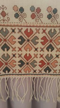Cross Stitch Art, Cross Stitch Borders, Cross Stitch Designs, Cross Stitching, Cross Stitch Embroidery, Embroidery Patterns, Hand Embroidery, Cross Stitch Patterns, Palestinian Embroidery
