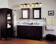 Zwarte kraan badkamer