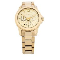 $199 (was $419) Ladies Multi-Function Watch in Gold Tone Stainless Steel @ Michael Hill - Bargain Bro