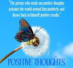 Sending Positive Thoughts to Someone   to be is in someone ...