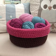 Rolled over bowl...FREE PATTERN!