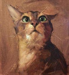 Jennifer Gennari Detail of kitty face Face Illustration, Illustrations, Guache, Cat Drawing, Animal Paintings, Dog Art, Pet Portraits, Art Pictures, Art Pics