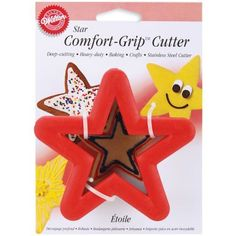 #Other #Bakeware #Accessories #Wilton #shopping #sofiprice Wilton Comfort-Grip Cookie Cutter - Star - http://sofiprice.com/product/wilton-comfort-grip-cookie-cutter-star-372373.html