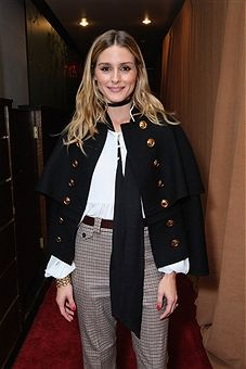 NEW YORK, NY - SEPTEMBER 28: Olivia Palermo entering the Under the Influence panel...