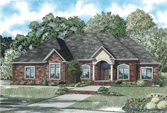 This 1.5 story Southern features 4037 sq feet. Call us at 866-214-2242 to talk to a House Plan Specialist about your future dream home!