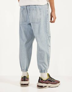 Fitted Joggers, Cargo Jeans, Balloons, Trousers, Poland, Sneakers, Fitness, Fashion, Men's Denim