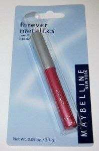Maybelline Forever Metallics Metal-shine Lipcolor Pencil, Punked Pink. by Maybelline. $4.29. metallic shine. lipcolor
