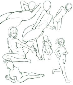 Female poses references