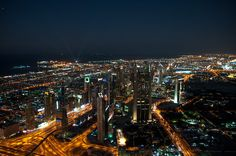 Dubai City by Night by Radu Muresanu on 500px