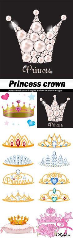 Корона принцессы вектор. Princess crown