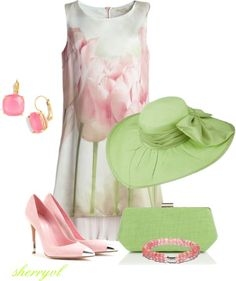 """Kentucky Derby"" by sherryvl on Polyvore"