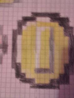 Pixel art pièce de mario