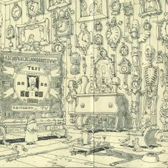 Les Sketchbooks de Mattias Adolfsson !