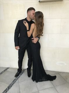 Ugh. Couple goals. Gorgeous low back reckless gown by studio minc! Formal and prom goals #mincgirl