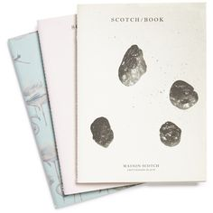 Maison Scotch Paper Notebooks (Set of 3) (130 CNY) ❤ liked on Polyvore featuring home, home decor, stationery, fillers, accessories, art and notebooks