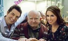 """Check out photos from the Hallmark Channel Original Movie """"All of My Heart,"""" starring Lacey Chabert, Brennan Elliott and Edward Asner"""
