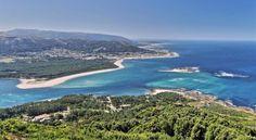 Desembocadura del río Miño - Frontera entre España y Portugal