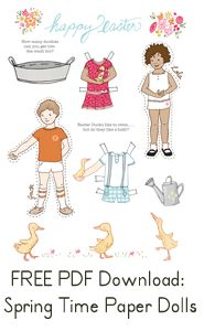 Free Paper Doll Printables