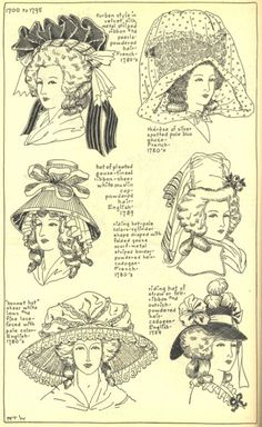 Village Hat Shop Gallery :: Chapter 11 - The Eighteenth Century :: 178_G