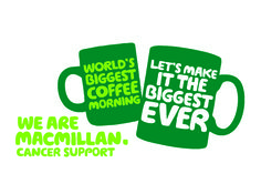 Join us at all our showrooms supporting MacMillan Cancer Support with the World's Biggest Coffee Morning